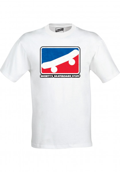 Shortys T-Shirts Skate Icon white Vorderansicht
