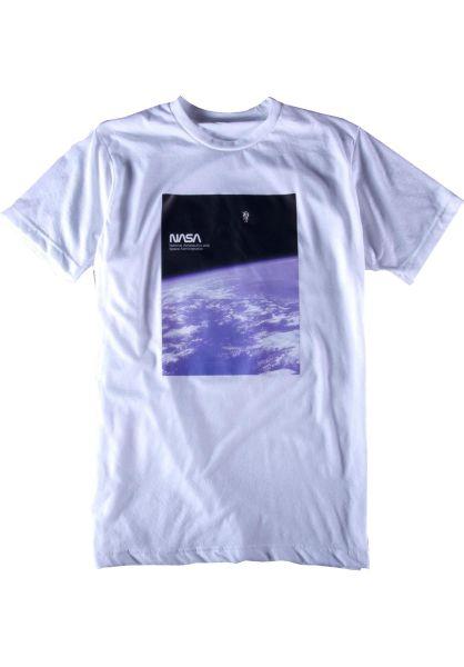 Habitat T-Shirts x NASA Soltitude white vorderansicht 0320571