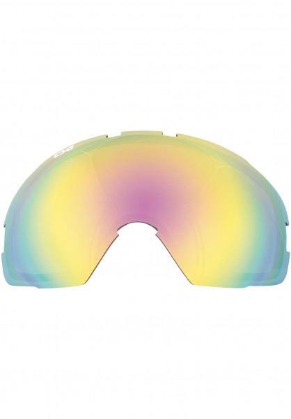 TSG Snowboard-Brille Replacement Lens Goggle One rainbow-chrome Vorderansicht