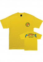 OJ Wheels T-Shirts Stretch Your Limits yellow Vorderansicht