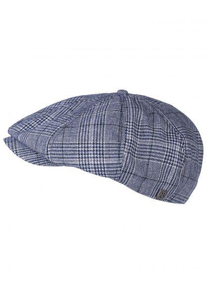 Brixton Hüte Brood washednavy-aluminium vorderansicht 0580161