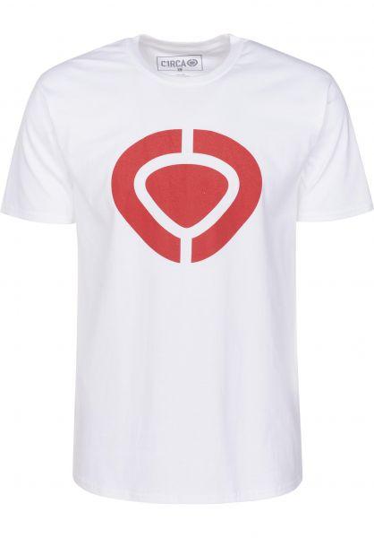 C1RCA T-Shirts Icon white vorderansicht 0396800