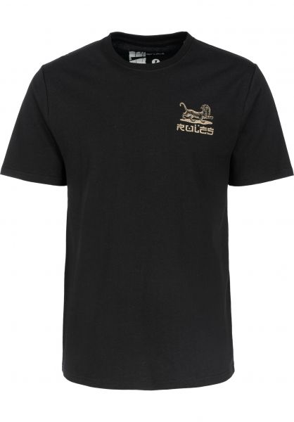 Rules T-Shirts Prowler black unteransicht 0399960