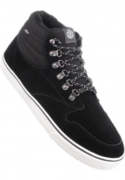 Element Alle Schuhe Topaz C3 Mid Sherpa black-charcoal Vorderansicht