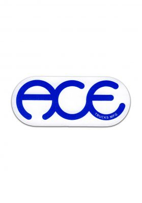 Ace Rings Logo Sticker 3""