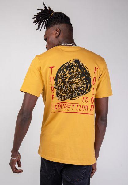 Turbokolor T-Shirts Gourmet sand vorderansicht 0320188