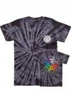 loser-machine-t-shirts-dead-ringer-tye-dye-black-spider-vorderansicht-0320832
