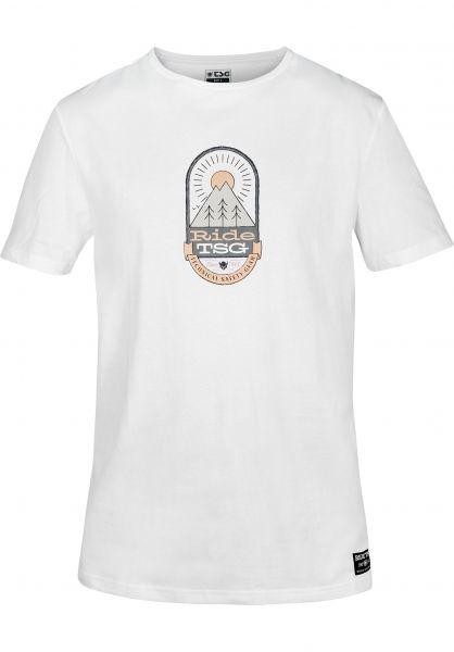 TSG T-Shirts Bluebird white vorderansicht 0391054