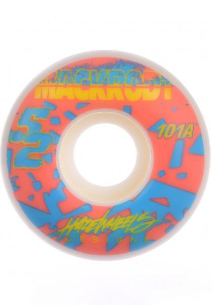 Haze Wheels Rollen Mackrodt MX 101A white vorderansicht 0134569
