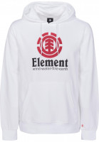 Element Hoodies Vertical opticwhite Vorderansicht