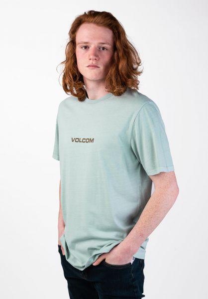 Volcom T-Shirts Little Europe seaglass vorderansicht 0320017