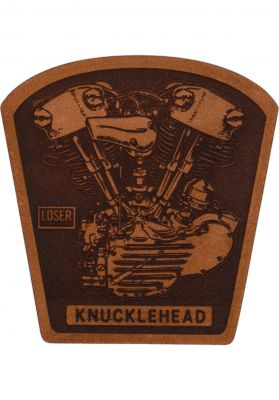 "Loser-Machine Knuckle 3.5"" Leather Patch"