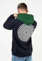spitfire-hoodies-classic-swirl-blocked-deepnavy-darkgreen-white-vorderansicht-0446210