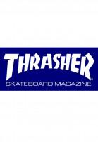 Thrasher-Verschiedenes-Skate-Mag-Medium-Sticker-blue-Vorderansicht