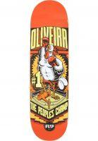 Flip-Skateboard-Decks-Oliviera-Comix-red-Vorderansicht