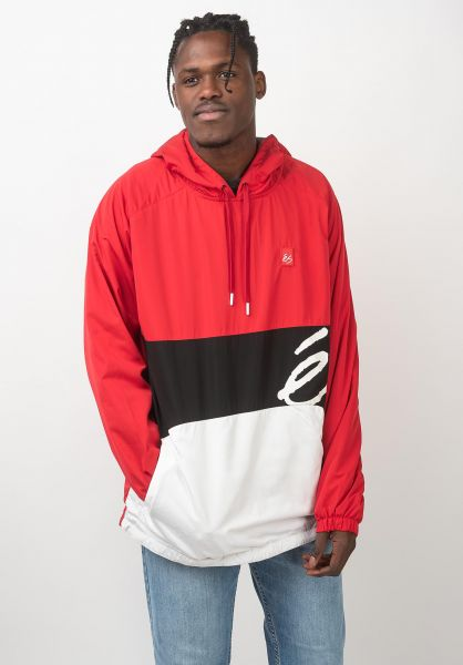 ES Windbreaker Esden red-white vorderansicht 0122623