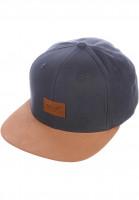 Reell-Caps-Suede-Cap-charcoal-Vorderansicht