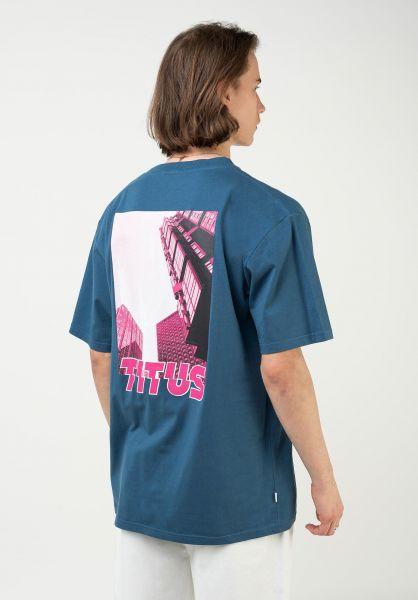 TITUS T-Shirts Ninho Backprint stellar vorderansicht 0322031