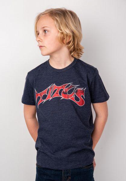 TITUS T-Shirts Schranz Kids deepnavymottled vorderansicht 0373632