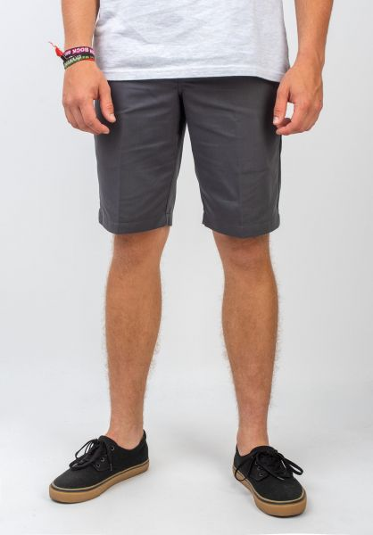 Dickies Chinoshorts Tynan charcoal vorderansicht 0281023