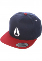 Nixon Caps Simon navy-red Vorderansicht