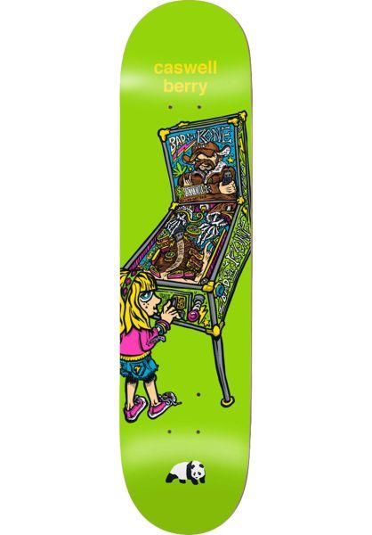 Enjoi Skateboard Decks Berry What´s The Deal green vorderansicht 0262601
