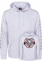 Independent Hoodies Thrasher Pentagram Cross Lightweight grey heather Vorderansicht