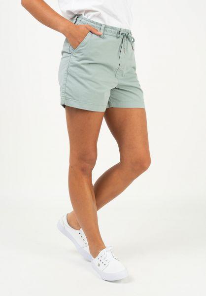 Reell Chinos und Sweatshorts Reflex Women Easy Short mintgreen vorderansicht 0279038