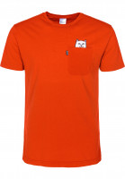 Rip N Dip T-Shirts Lord Nermal Pocket safetyorange Vorderansicht