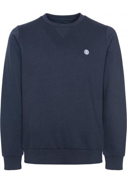 Element Sweatshirts und Pullover Cornell eclipsenavy-white Vorderansicht