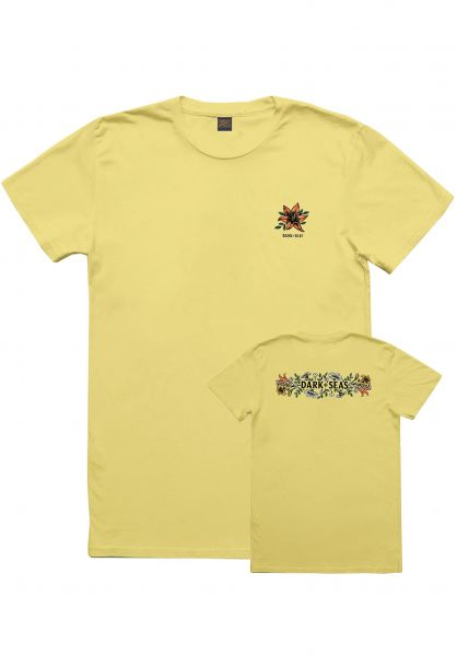 Dark Seas T-Shirts Memorial Women yellow Vorderansicht