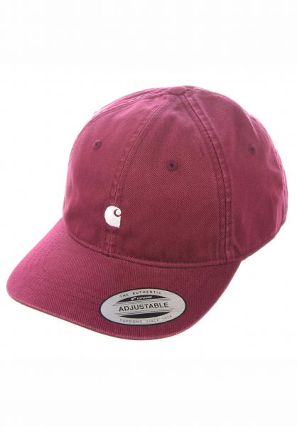 Carhartt WIP Caps Madison Logo Cap shiraz-wax vorderansicht 0565940