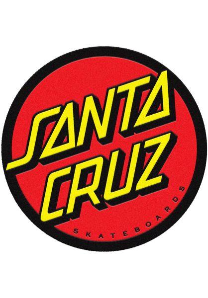 Santa-Cruz Verschiedenes Classic Dot Rug red-yellow vorderansicht 0972558