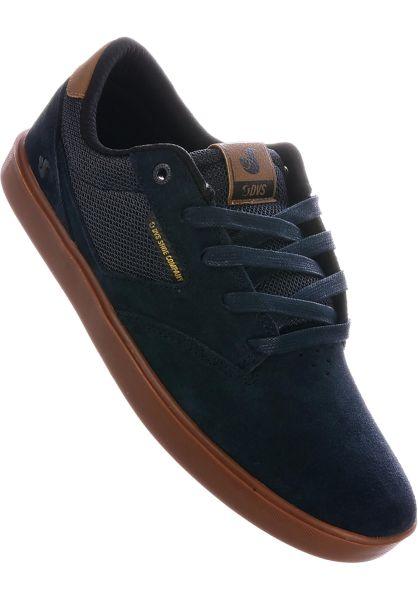DVS Alle Schuhe Pressure SC+ navy-black-gum vorderansicht 0604357