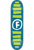 Foundation Skateboard Decks Doodle Stripe blue Vorderansicht