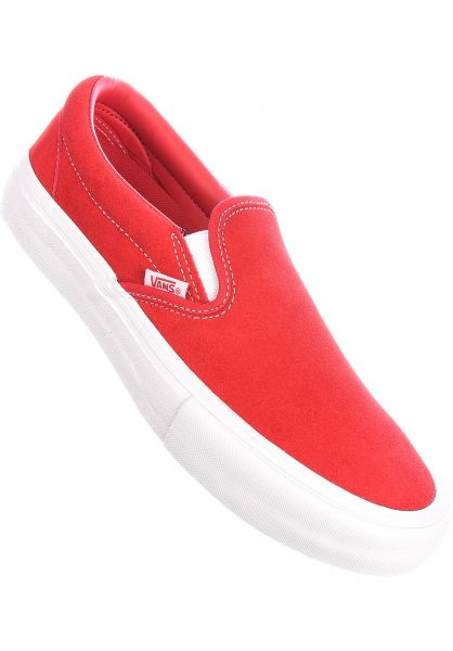 Vans Alle Schuhe Slip-On Pro red-white vorderansicht 0603931