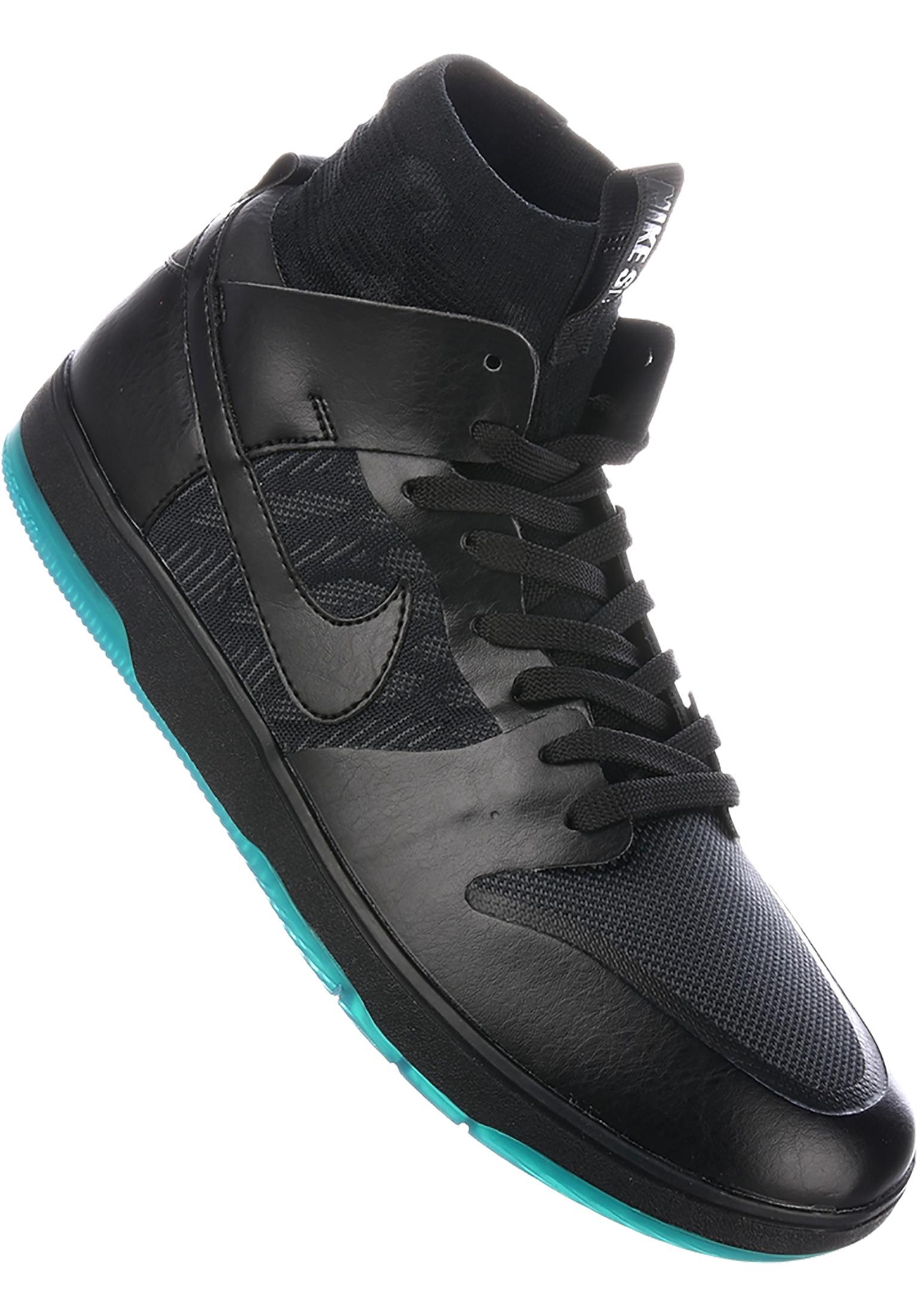 wholesale dealer a22e7 b69d2 Zoom Dunk High Elite Nike SB All Shoes in black-teal for Men