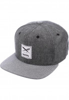 iriedaily-Caps-Flag-Chambray-black-Vorderansicht