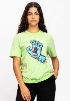 santa-cruz-t-shirts-screaming-hand-wmn-freshlime-vorderansicht-0323234