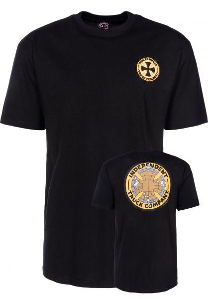Independent T-Shirts Drehobl Drop In black Vorderansicht