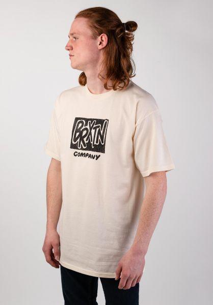 Brixton T-Shirts Filler offwhite vorderansicht 0320009