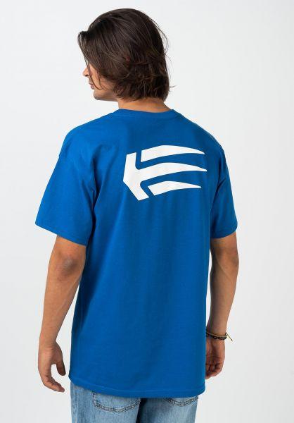etnies T-Shirts Joslin royal vorderansicht 0321219