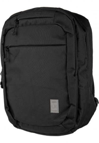Lefrik Rucksäcke 101 Backpack black vorderansicht 0880954