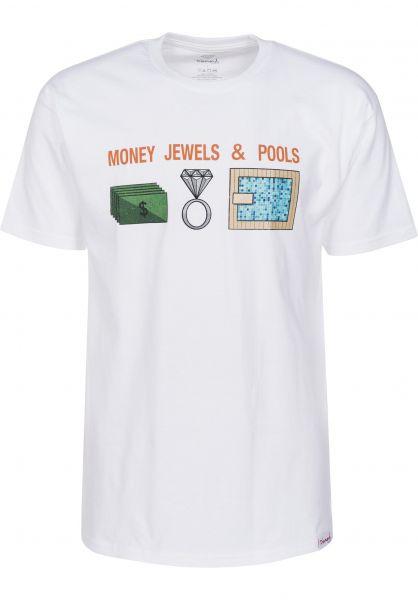 Diamond T-Shirts Specification white Vorderansicht