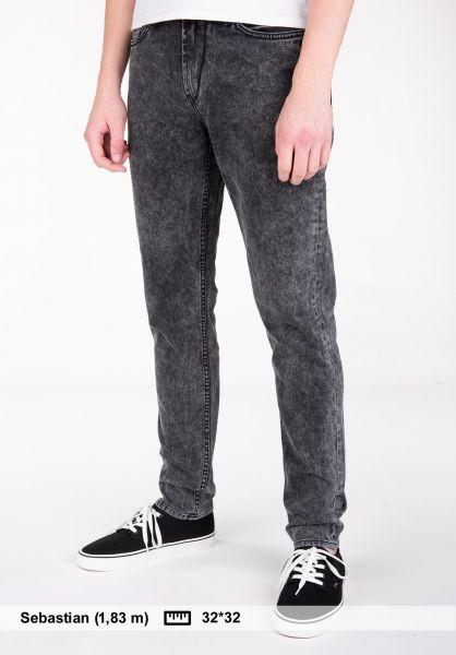 Reell Jeans Spider 90's-blackwash vorderansicht 0227065