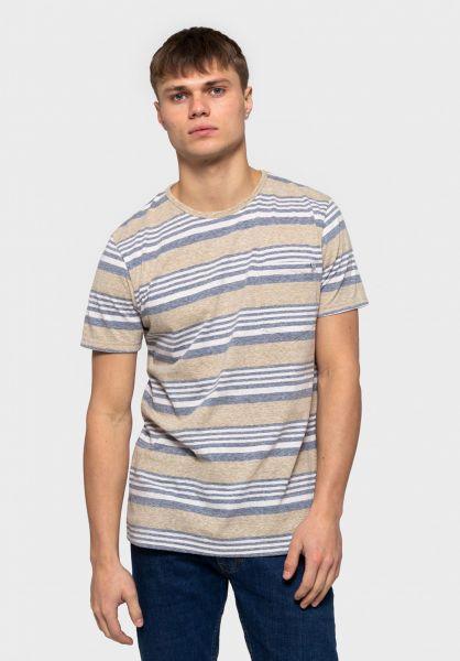 RVLT T-Shirts 1147 khaki vorderansicht 0321076