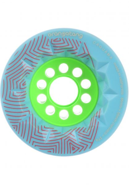 Orangatang Rollen Caguama 77A blue vorderansicht 0255335