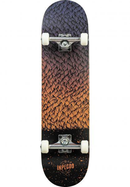 Inpeddo Skateboard komplett Feather rose vorderansicht 0161926
