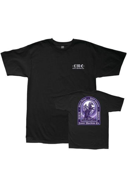 Loser-Machine T-Shirts Until Forever black vorderansicht 0383263