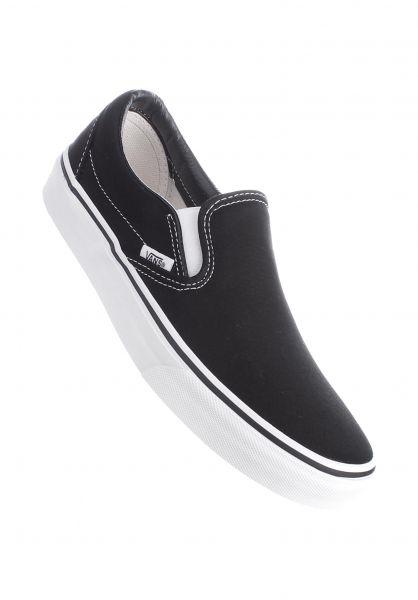 Vans Alle Schuhe Classic Slip-On black Vorderansicht